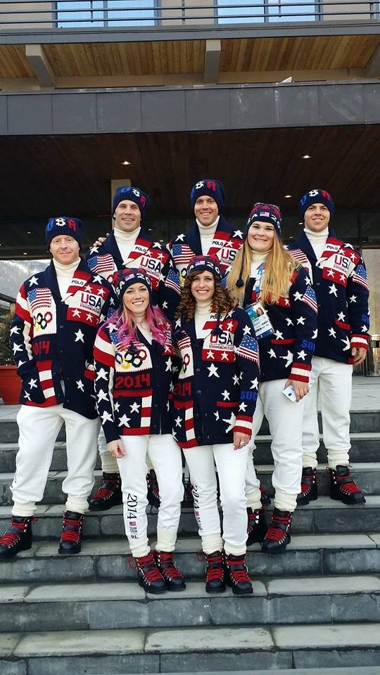 The Offical US Olympic SBX Team